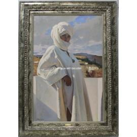 Mujer con turbante