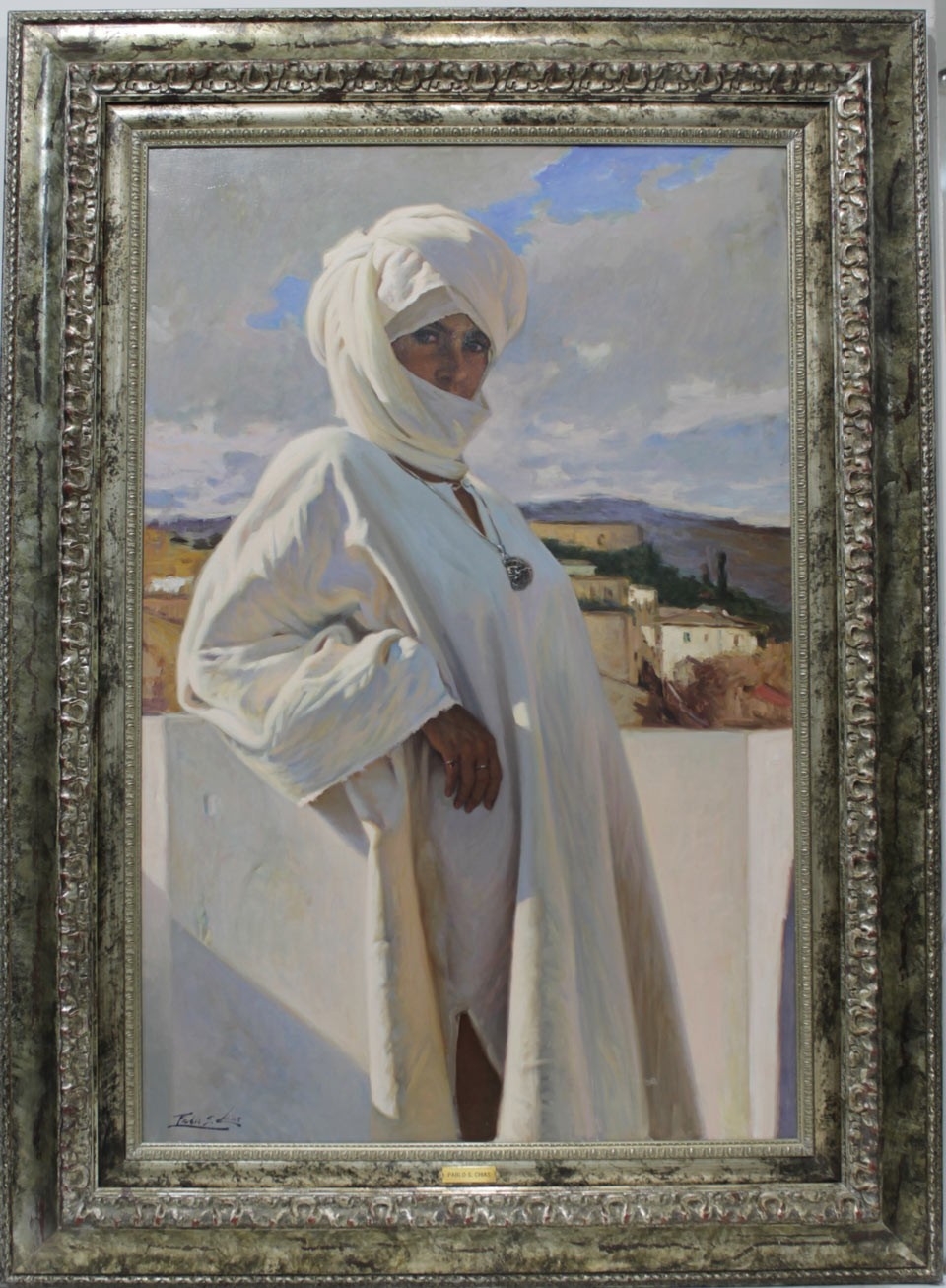 Pablo Segarra Chías: Mujer con turbante