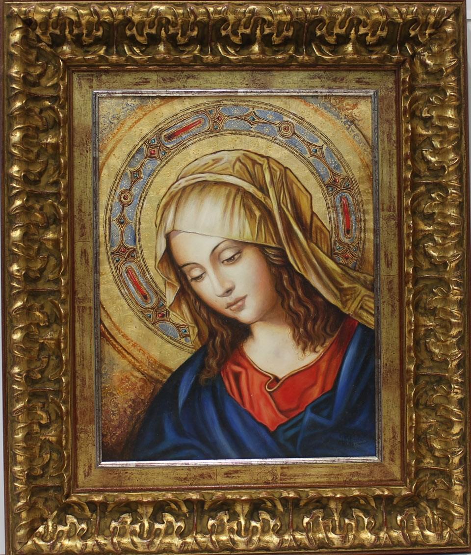 Juan Manuel Ayala: Virgen renacentista