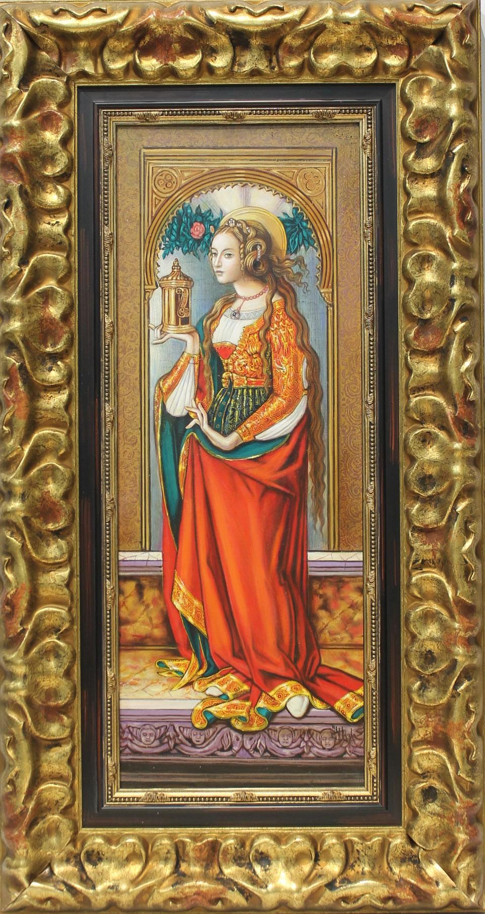 Juan Manuel Ayala: María Magdalena gótica
