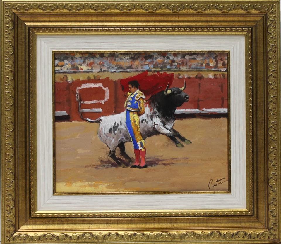 e5ee7c3f10a Enrique Pastor  Manoletina. Original oil paintings for sale at ...