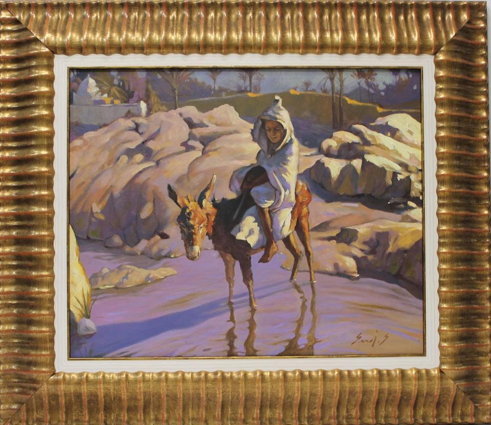 Said Saadi: Niño con burro