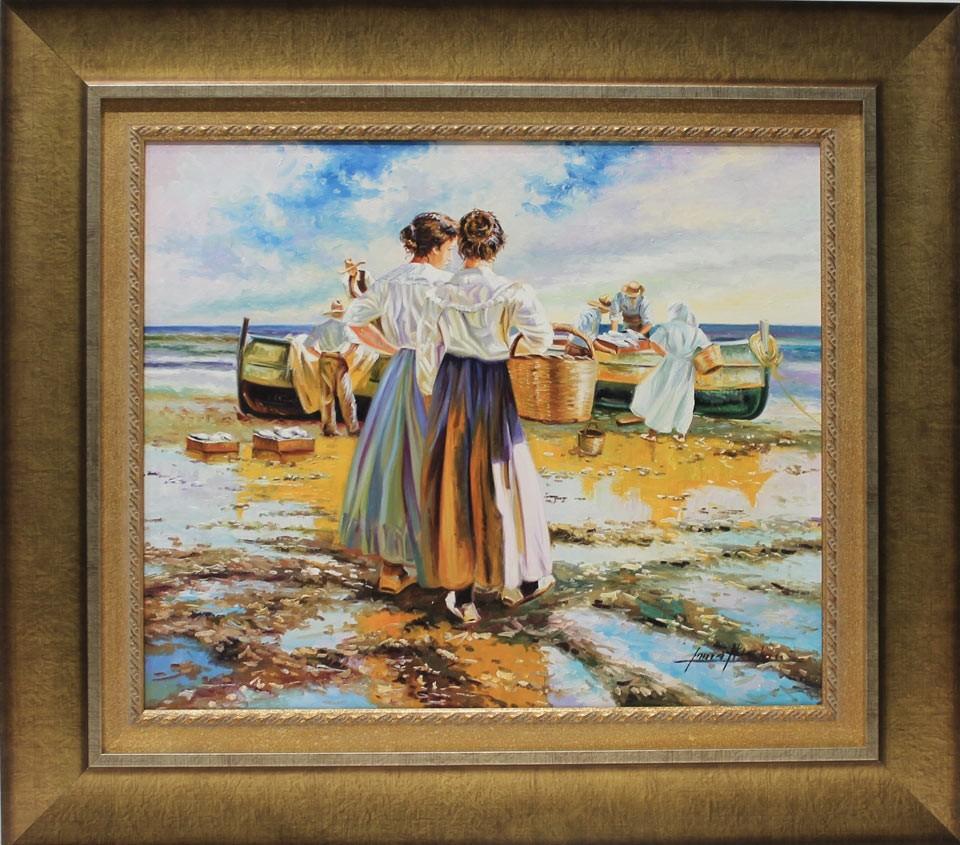 Inmaculada Nicolau: Pescadoras
