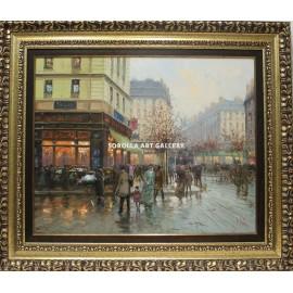 Emilio Payes: Parisian boulevard