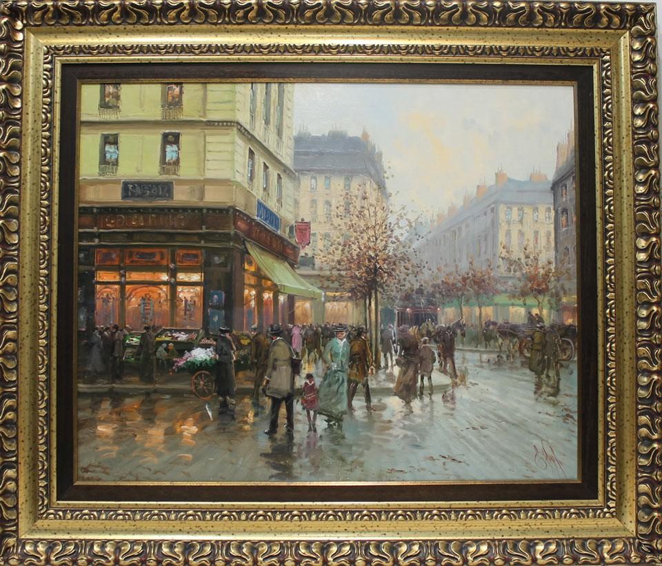 Emilio Payes: Bulevar parisino