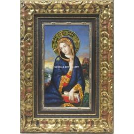 Virgen con paisaje