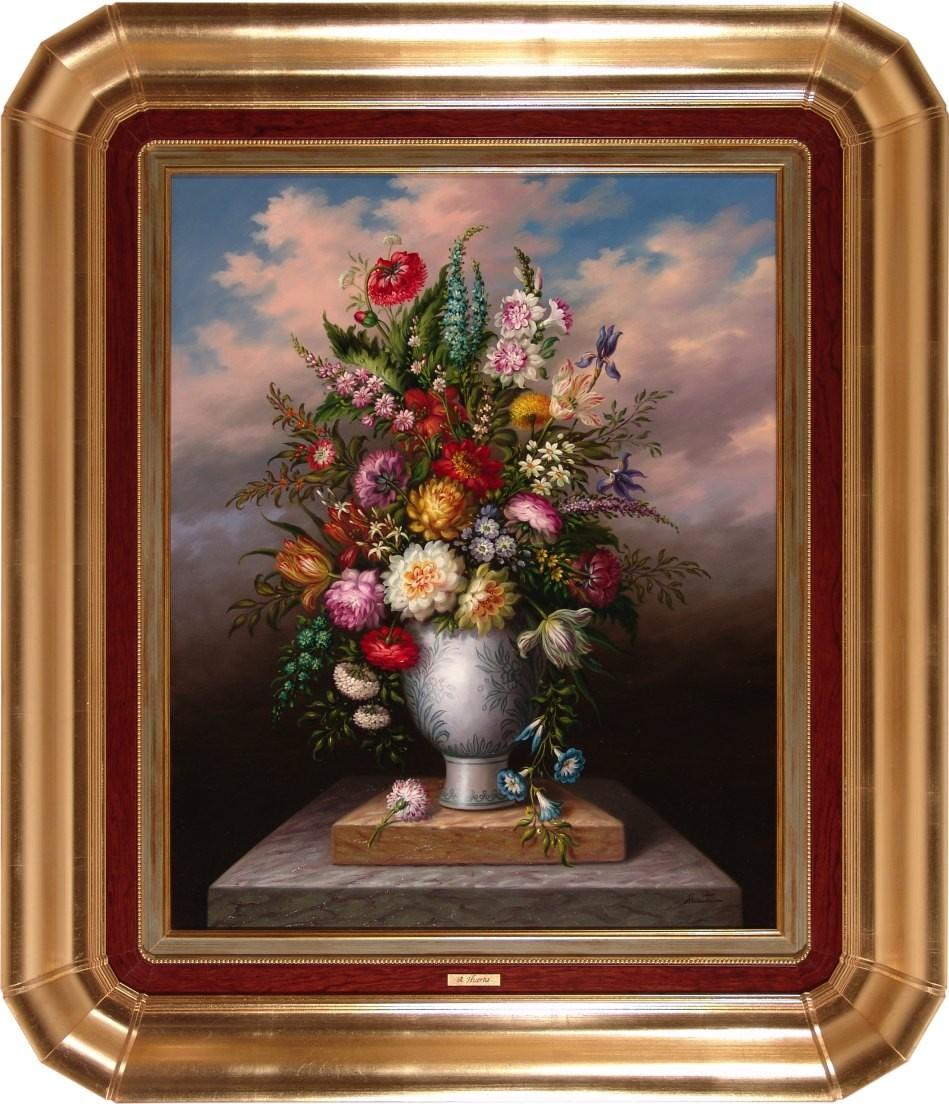 A. Huerta: Flores Jarro