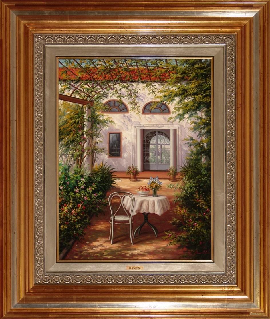 A. Huerta: Jardín