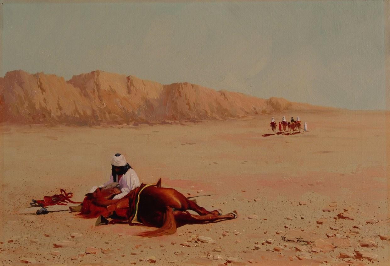 Román Francés: Desierto