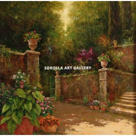 Román Francés: Garden