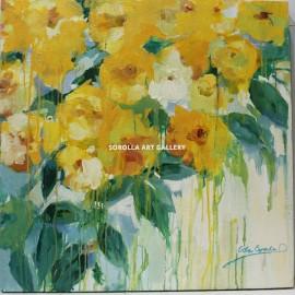 Lola Cepeda: Yellow flowers