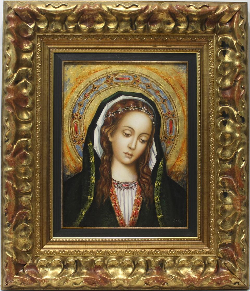 Juan Manuel Ayala: Vïrgen románica-gótica