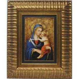 La Virgen y el niño Dios