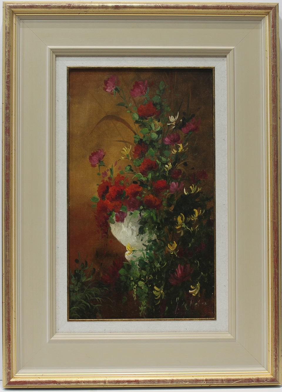 J. De Nebra: Flores en macetero
