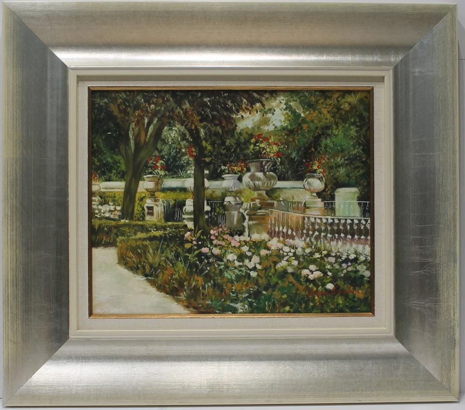 Inmaculada Nicolau: Jardín de Aranjuez