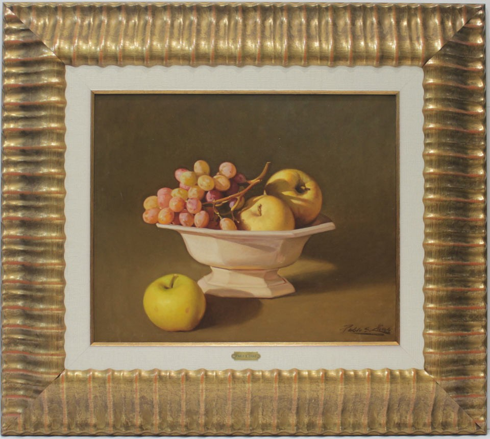 Pablo Segarra Chías: Bodegón de frutas