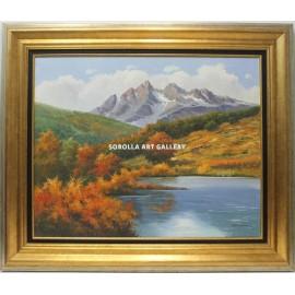 Bonhome: Montaña y lago