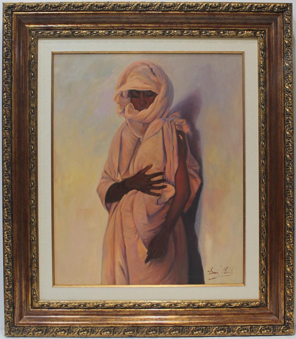 Said Saadi: Mujer árabe