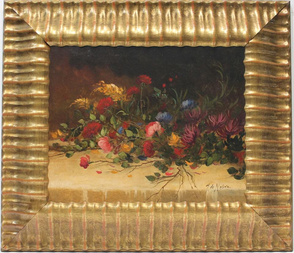 J. De Nebra: Dame flores