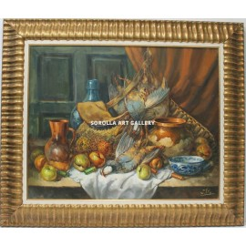 J. Vila: Still life of the partridges