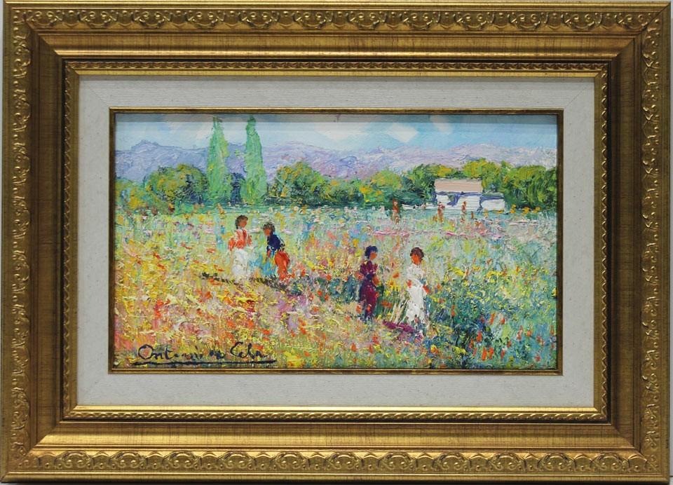 Antonio de Cela: En el prado