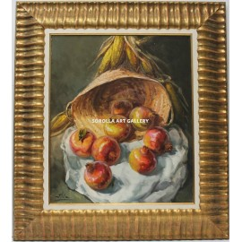 J. Vila: Still life of the pomegranates