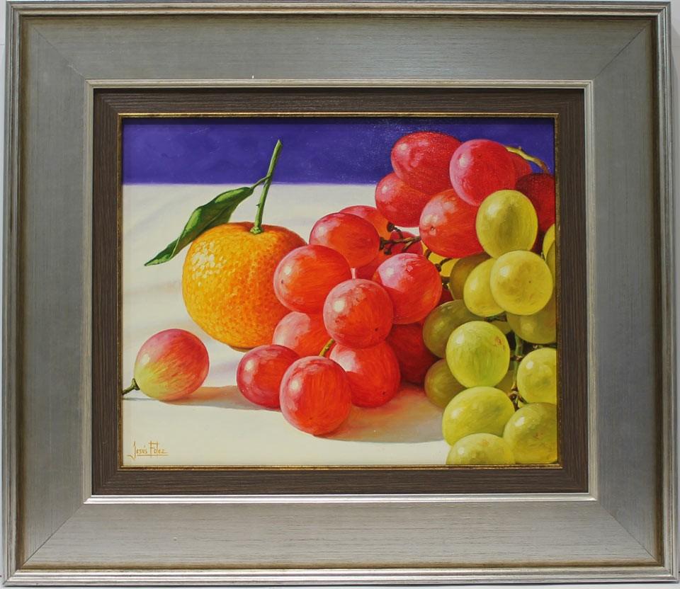 Jesús Fernández: Uvas y naranja