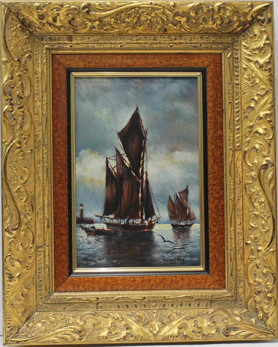 H. Vonk: El velero negro