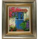 Jesús Fernández: Puerta azul
