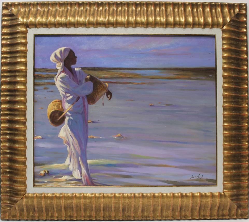 Said Saadi: Paseando por la playa