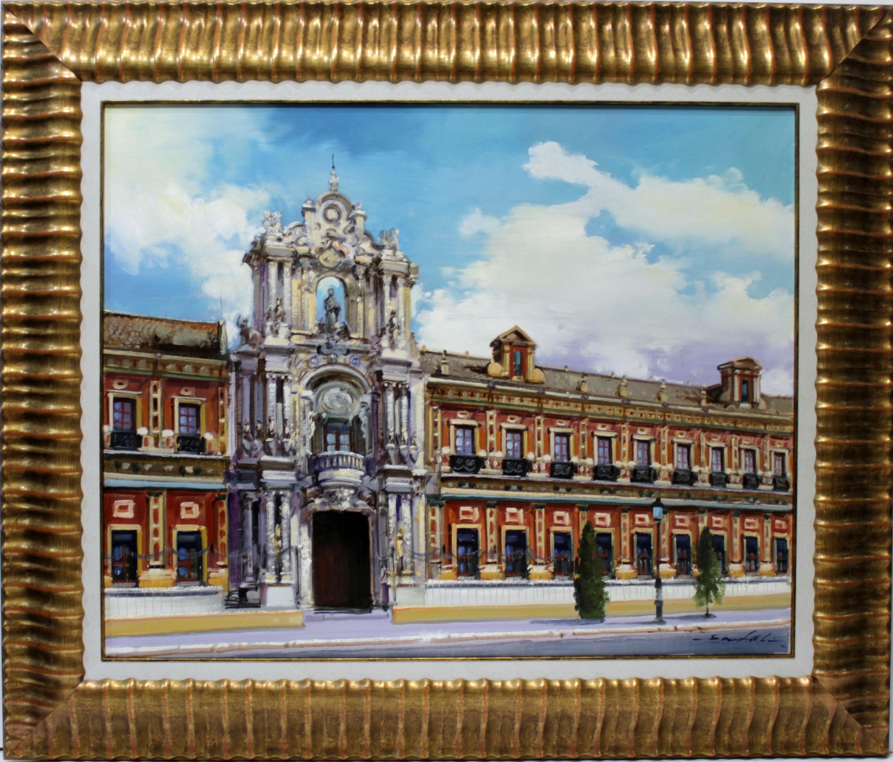 Santillán: Palacio de San Telmo