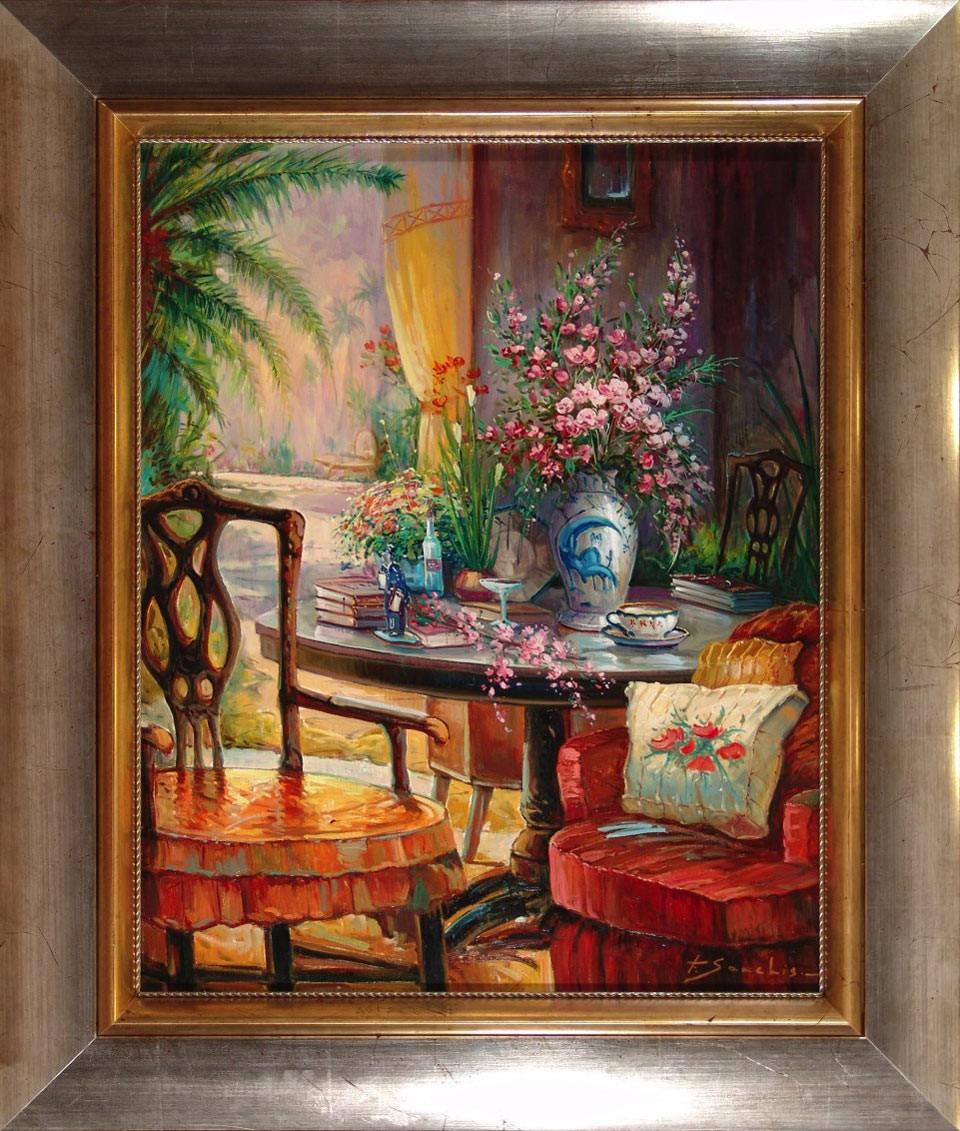 F. Sanchís: Salón de verano