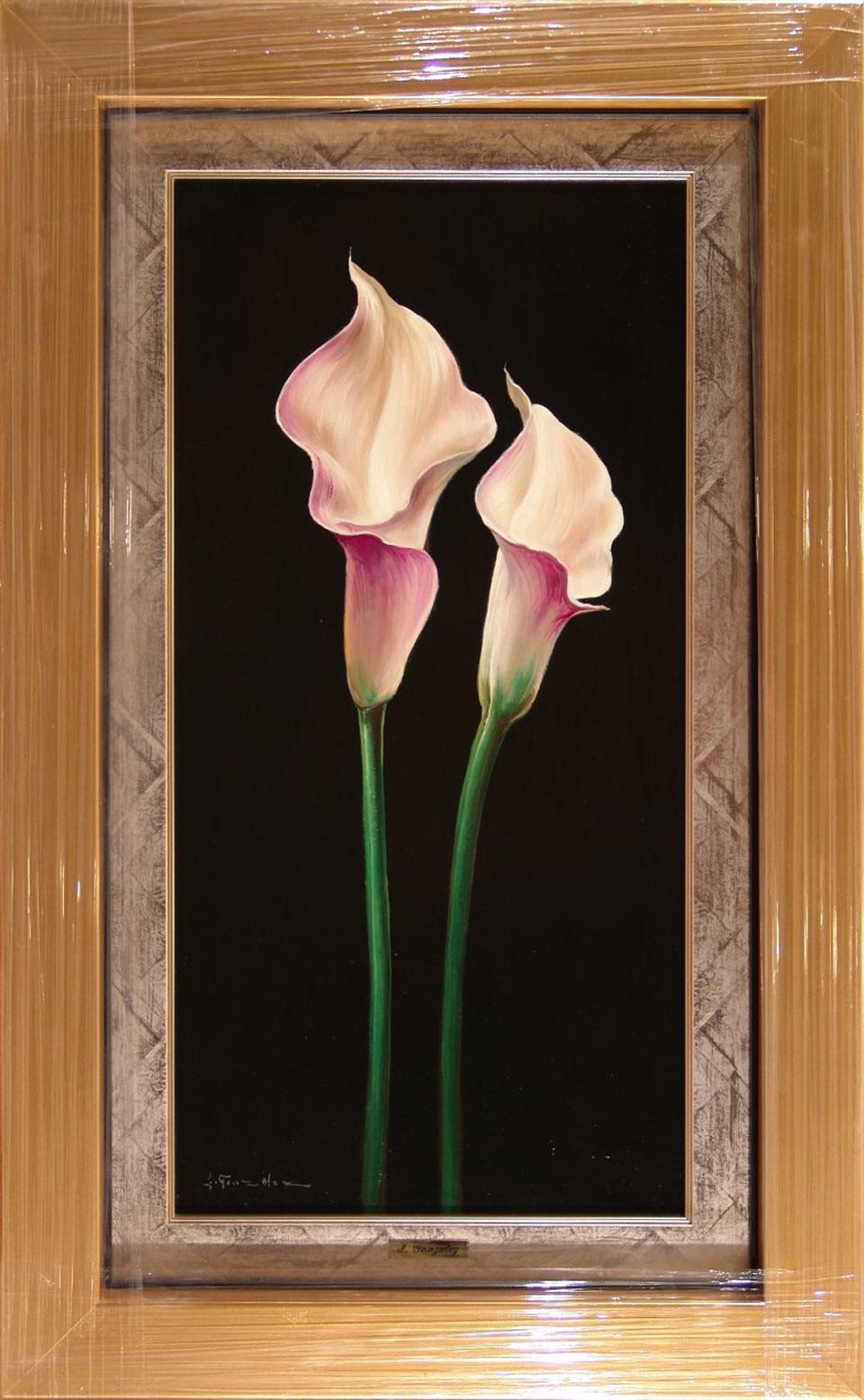 J. González: Calas rosas