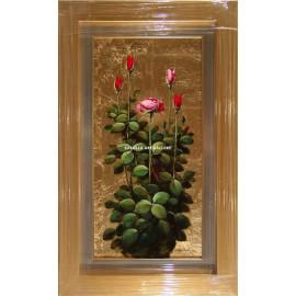 Rosa florecida