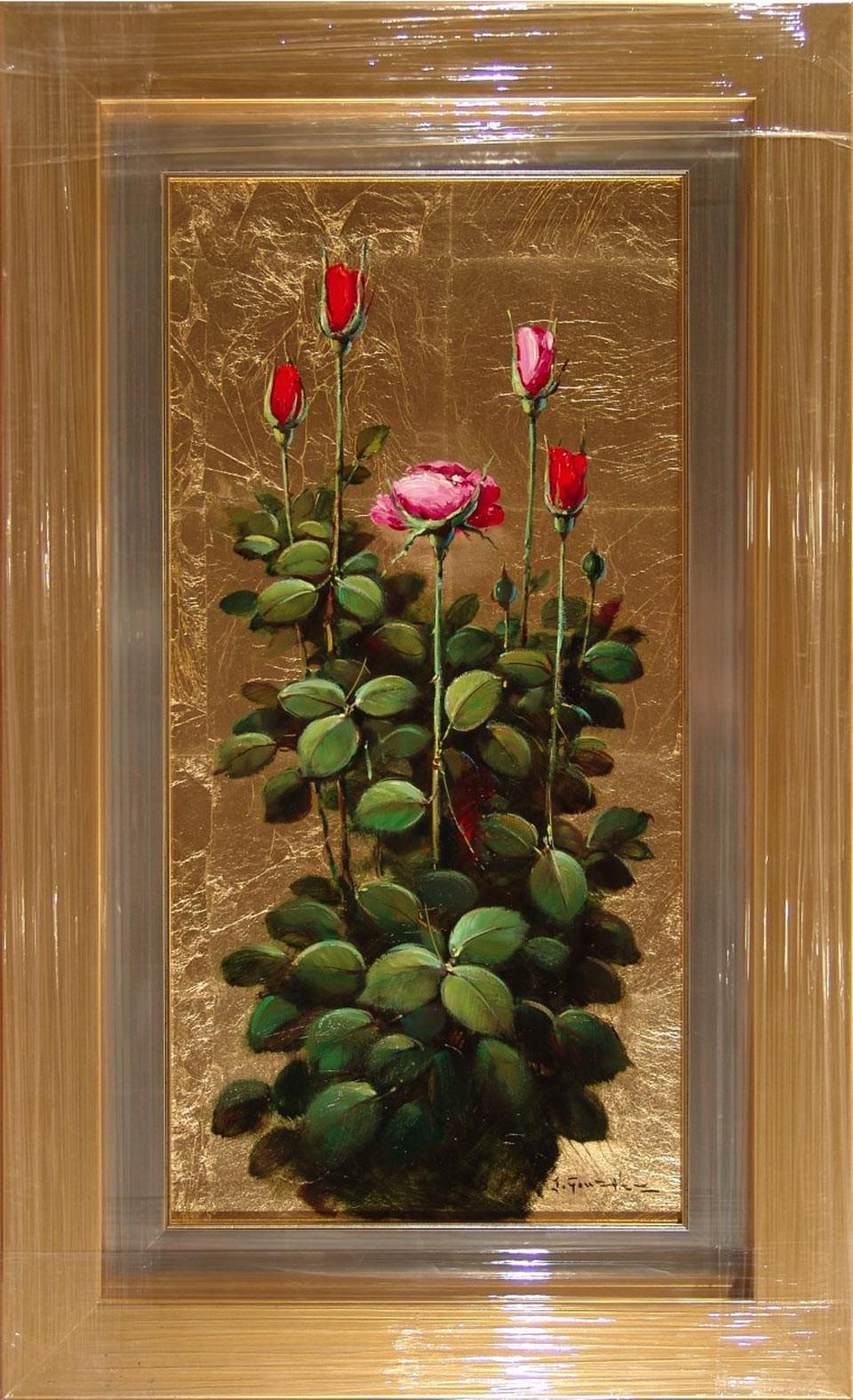 J. González: Rosa florecida
