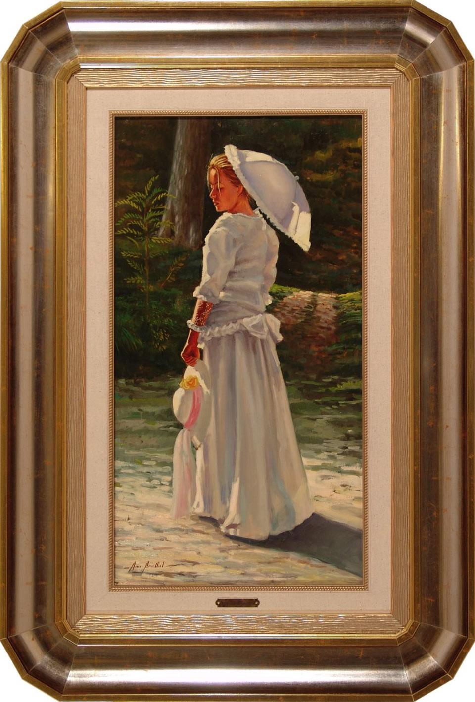 Marisa Mallol: La dama del sombrero blanco