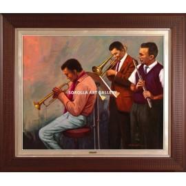 Músicos de jazz