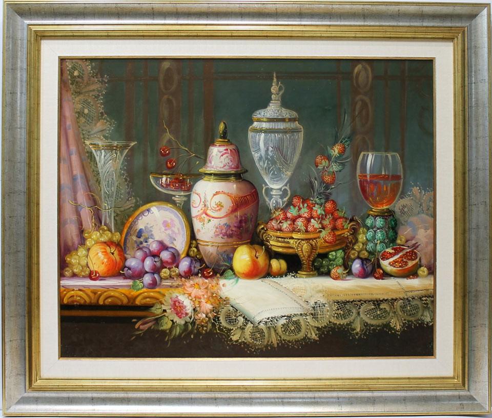 Michel: Frutas y vino