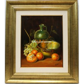 Robert: Still life of the oranges