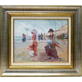 Women in the beach