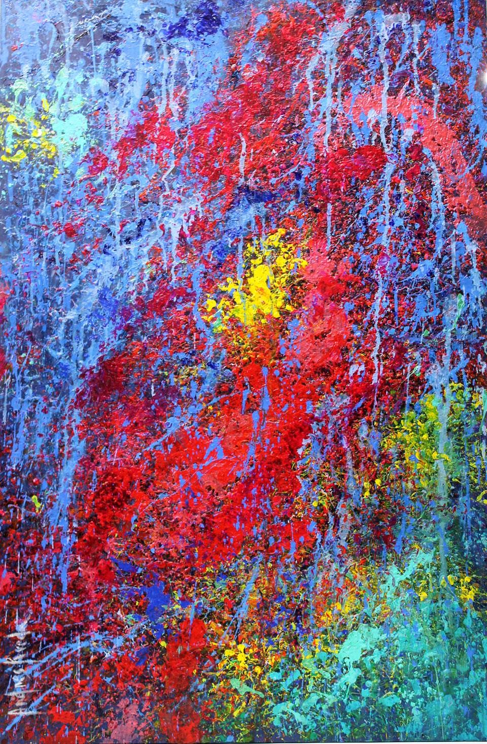 Andrés Rueda: Abstracción otoñal