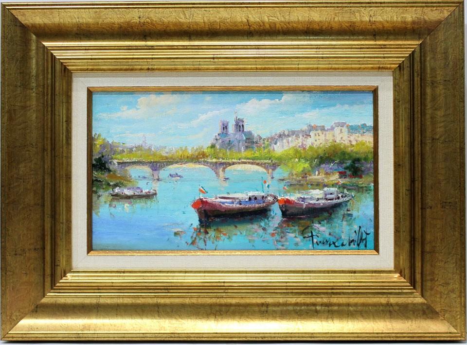 Pierre Chiflet: Barcas por el Sena