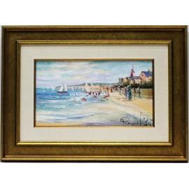 Pierre Chiflet: Veleros en la playa