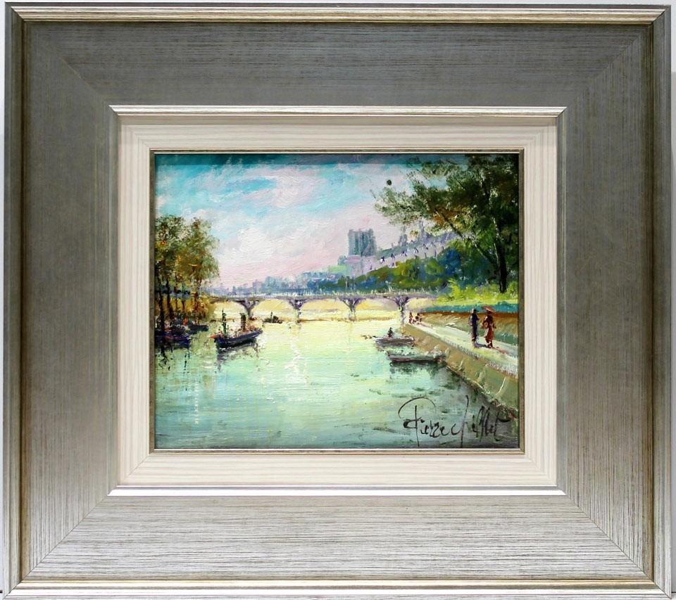 Pierre Chiflet: Vista de París