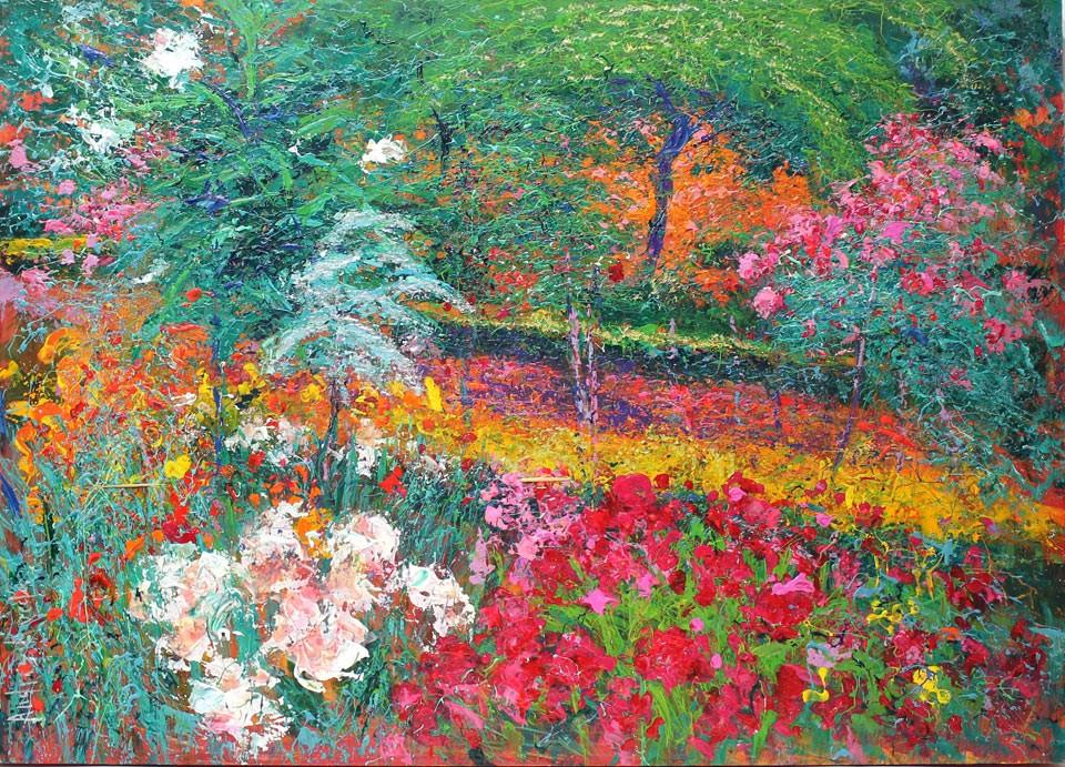 Andrés Rueda: Rosas de la Alhambra