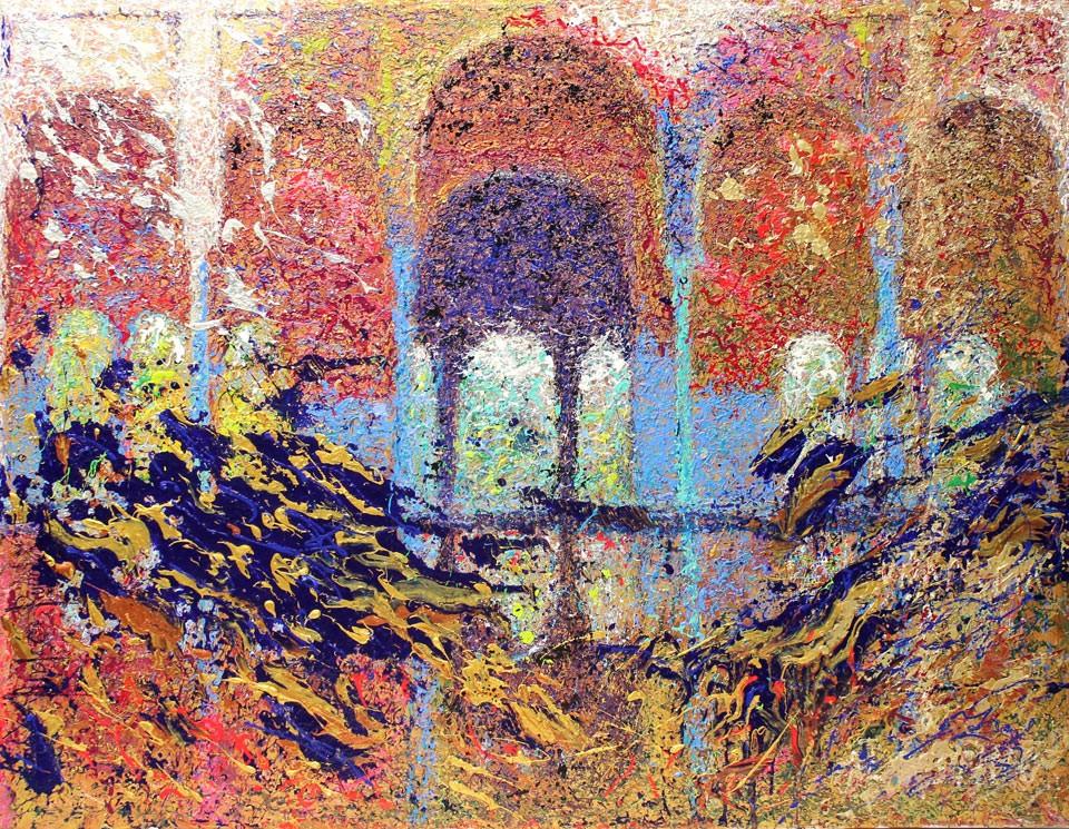 Andrés Rueda: Arrayanes de la Alhambra