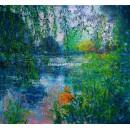 Andrés Rueda: Aguas del lago