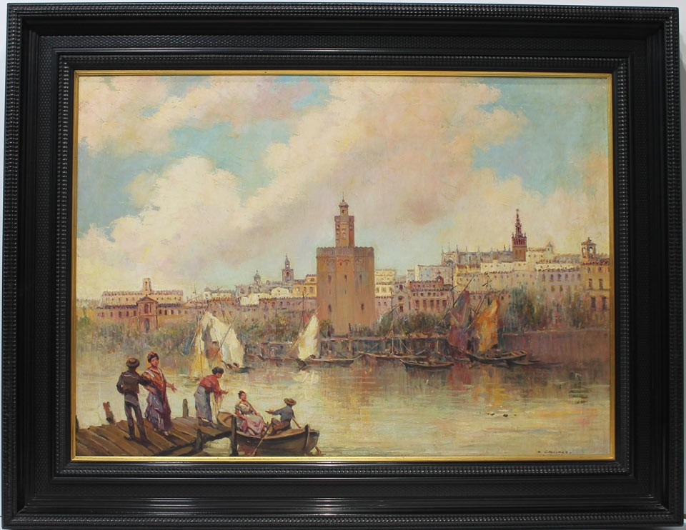 José Palomar: Vista de Sevilla
