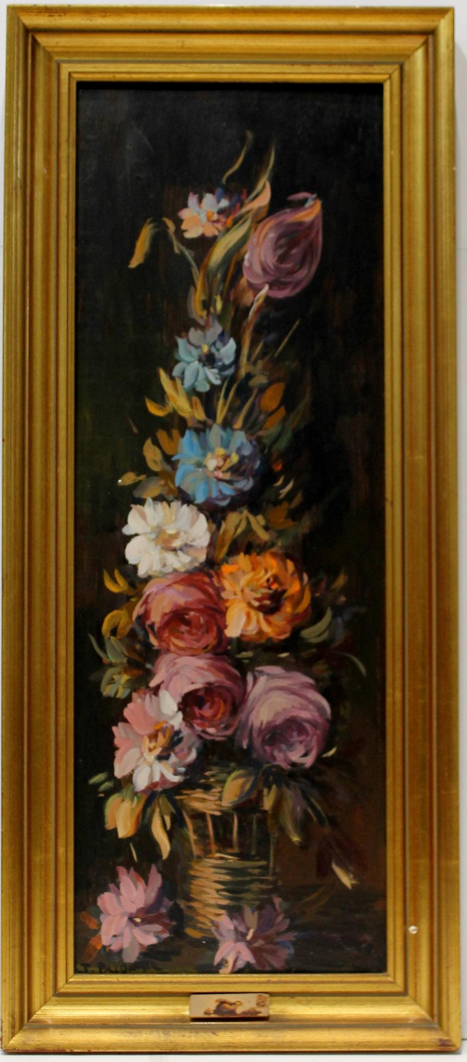 José Palomar: Bodegón de flores