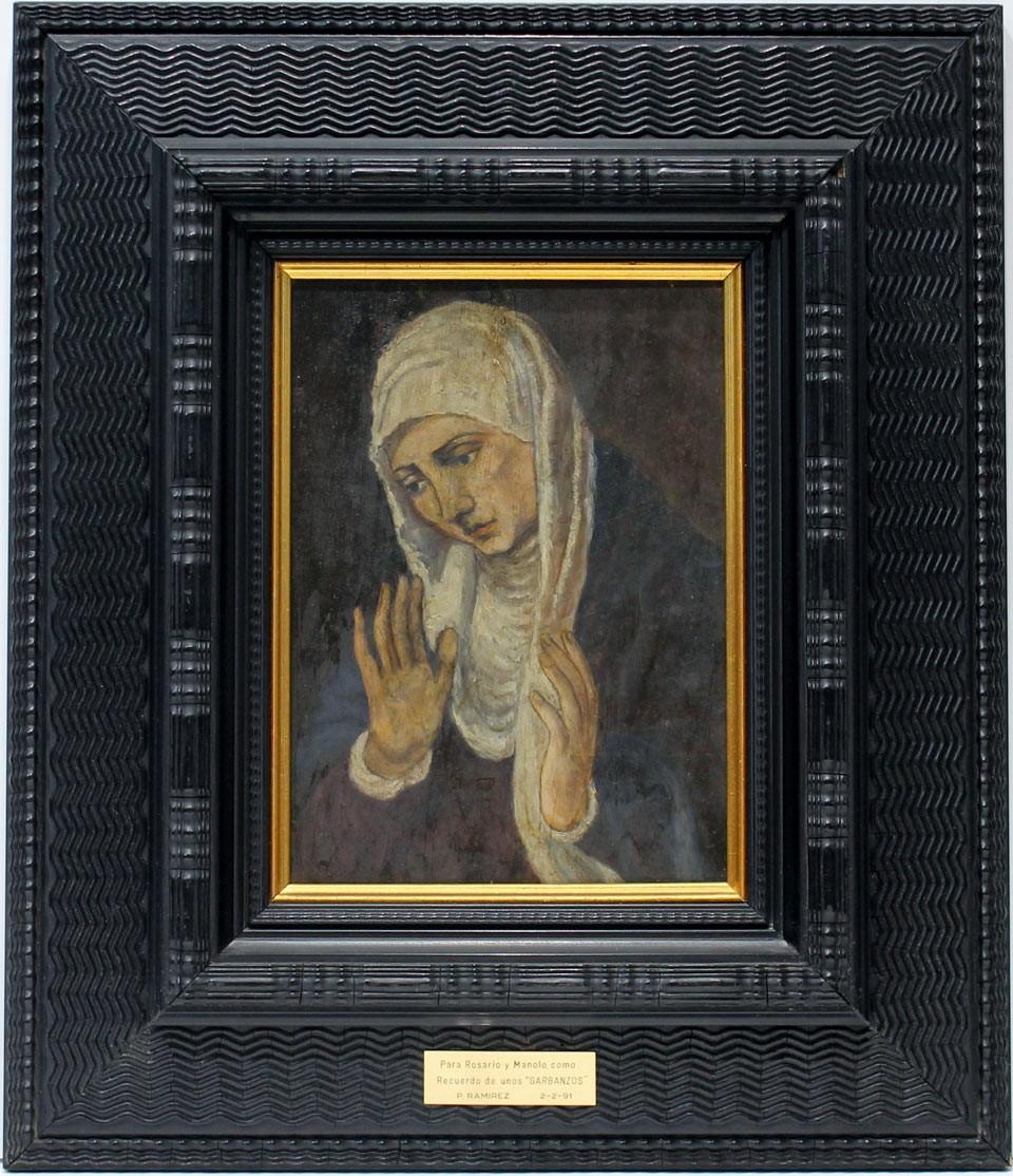 José Palomar: Figura de Virgen